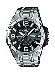 Casio Europe GmbH EFR-104D-1AVUEF - Reloj de pulsera hombre, acero inoxidable, color plateado de Casio Europe GmbH