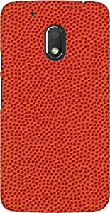 AMEZ designer printed 3d premium high quality back case cover for Moto G4 Play (Basketball Texture Closeup iPhone 5 Wallpaper)