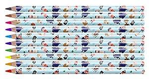 NPW - Juego de lápices y lápices de Colores (10 Colores Surtidos)