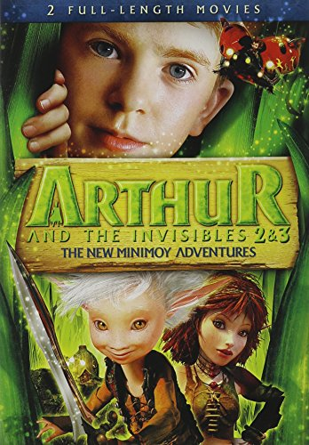 Arthur & Invisibles 2 & 3: New Minimoy Adventure [Import USA Zone 1]