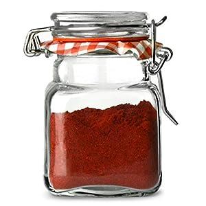 Kilner 70 ml Mini Spice Herb Clip Top Jam Jars (Pack of 12) from Rayware