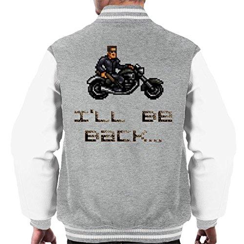 Cloud City 7 Terminator T3 Ill Be Back Men's Varsity Jacket