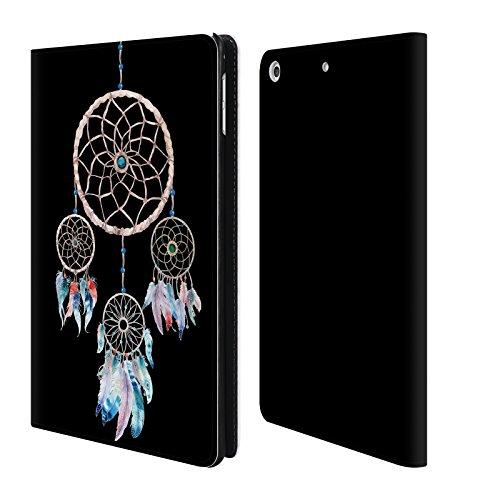 Head Case Designs Offizielle Kristina Kvilis Dreifach Traumfänger 2 Brieftasche Handyhülle aus Leder für iPad mini - Ipad Cellular Gb 128 Mini 2