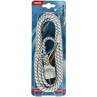 Scanpart 2380520763Câble Fer à Repasser avec tissu tressé
