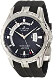 Edox Grand Ocean 83006-3-NIN 45mm Automatic Stainless Steel Case Black Rubber Synthetic Sapphire Men's Watch