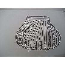 "IKEA ""KANTRA"" lámpara de mesa blanco 28 cm"