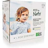 Naty toallitas douces ECOLOGIQUES sin perfume 3 Pack de 56 toallitas