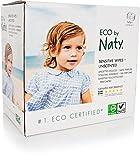 Naty by Nature Babycare Salviettine Umide Ecologiche, senza Profumo - 3 Confezioni da 56 Pezzi