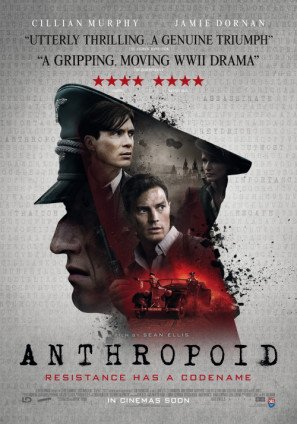 ANTHROPOID - Cillian Murphy - US Imported Movie Wall Poster Print - 30CM X 43CM Brand New