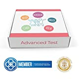 Advanced Bio Resonance Testing Kit | Nuts, Gluten, Lactose, Pollen |Detects Over 600 Items | Includes 1 Test