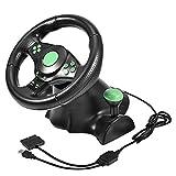 Neufday Pédales de Volant Gaming Vibration Racing