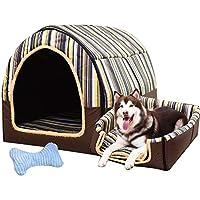 LVAB Cama para Mascotas Perro Grande Casa De Perro Invierno Mantener Caliente Lavable Cuatro Estaciones Perrera Interior Casa De Perro 6 Colores Tamaño 6 Opcional (Color : C, Tamaño : XL)