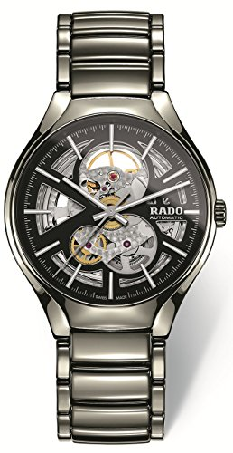 Rado True Open Heart Homme 40mm Gris Automatique Montre R27510152