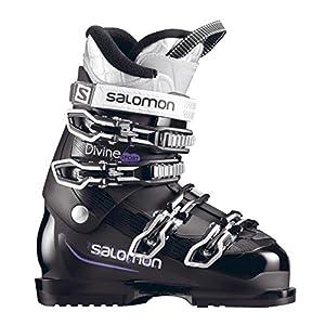 Salomon Skischuh Damen DIVINE SPORT black/PR Grösse Mondo 23,5 UVP 199,00€ Neu