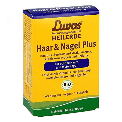 Luvos Heilerde Bio Haar & Nagel Plus Kapseln 60 stk