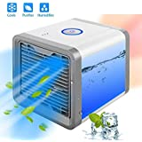 p yu Mini Portable Air Cooler Fan Arctic Air Personal Space Cooler The Quick & Easy Way to Cool Any Space Air Conditioner Device Home