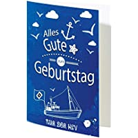 "Glückwunschkarte Karte ""Geburtstag"" Hamburger SV HSV"