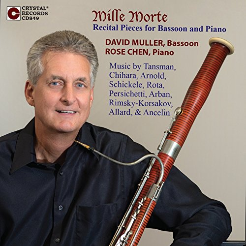 Mille Morte, Recital Pieces for Bassoon and Piano (Mille Roses Une)
