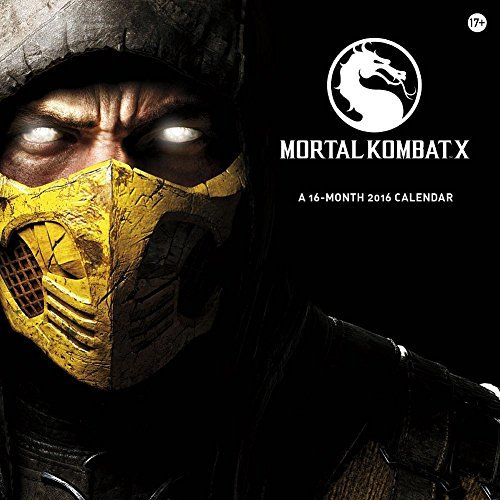 Mortal Kombat X 2016 Wall Calendar by Trends International (2015-08-01) (8 X Kombat Mortal)