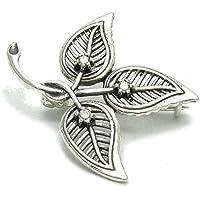 Spilla in argento 925 Fiore A000034