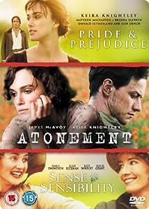 Atonement/Pride And Prejudice/Sense And Sensibility [DVD]