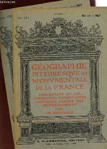 2-fascicules-liv-151-et-152-aveyron-i-ii-geographie-pittoresque-monumentale-de-la-france-description-du-sol-curiosites-monuments-costumes-cartes-des-departements