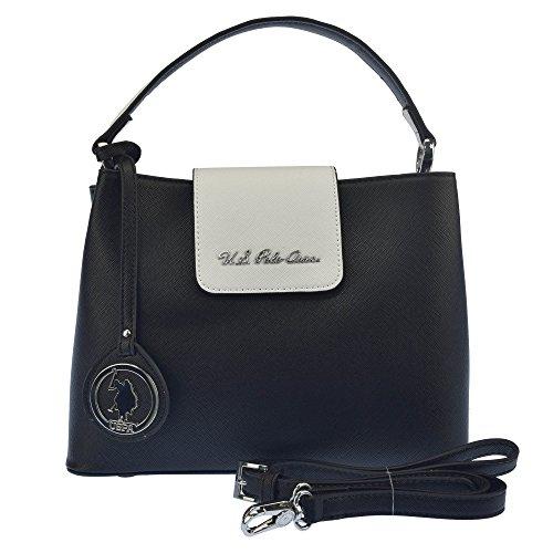 U.S.POLO ASSN. Handtasche mit Schulterriemen US POLO Pendel 29x11.5x17 cm