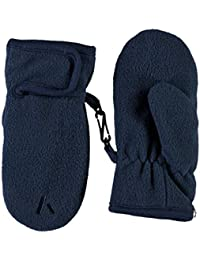 Name it Nitmar 13138588 Handschuhe Fäustlinge Blau Fleece Babyhandschuhe Gr. 4 (6-12 Monate)
