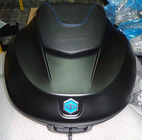 cm290308Kit Baúl Completo Piaggio Beverly RST 125300350Touring Negro Carbono 93/B Costuras Azul
