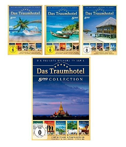 Das Traumhotel - Sammelbox 1/2/3/4-Set - Deutsche Originalware [20 DVDs]