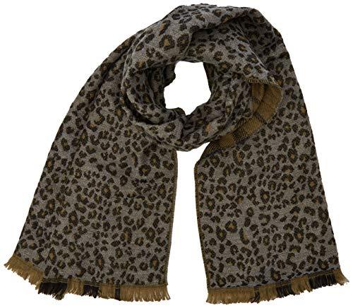 ICHI Damen IALEO SC Schal, Grau (Dark Grey Melange 10021.0), Size (Herstellergröße: One)