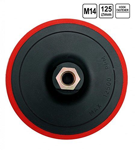 Vorel 08318–-Gummi für Winkelschleifer mit Klettverschluss 125mm