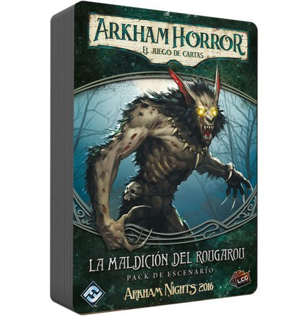 Arkham Horror - La Maldición del Rougarou (Edge Entertainment EDFFFIAHC09)