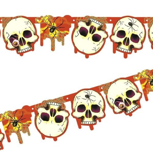 enkopf Skull Party Liefermenge = 1 (Totenkopf Pinata)
