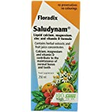 Floradix Saludynam Liquid Calcium/ Magnesium/ Zinc and Vitamin D Formula 250ml