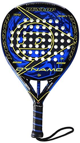 Dunlop Dynamo Pala De Pádel, Unisex, color negro y azul, Talla Única