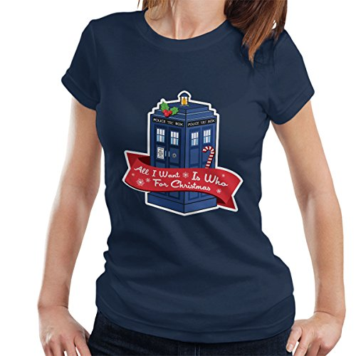 * NEW * Christmas Tardis
