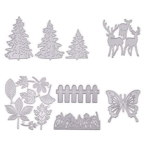 Benecreat taglio die die set vari disegni stampo in acciaio al carbonio per scrapbooking album mestieri di carta diy
