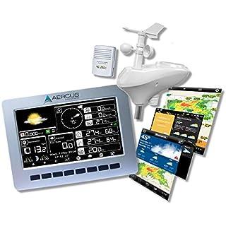 Kabellose Wetterstation WeatherRanger® mit WiFi und Echtzeit-Internet Veröffentlichung + Gratis Anfänger-Guide (eBook).