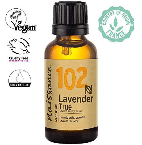 Naissance Aceite Esencial de Lavanda n. º 102 - 30ml - Vegano y no OGM GMO