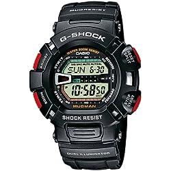 Casio Reloj Digital para Hombre con Correa de Resina – G-9000