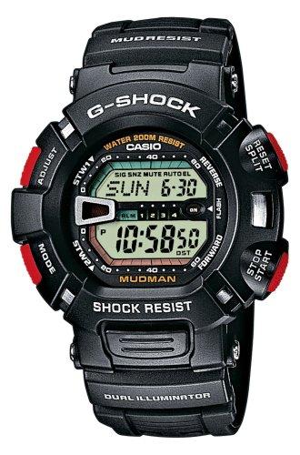 Casio Reloj Digital para Hombre de Cuarzo con Correa en Resina G-9000-1VER