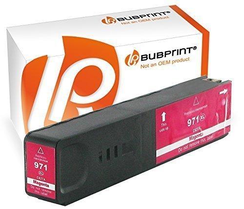 Preisvergleich Produktbild Bubprint Druckerpatrone kompatibel für HP 971XL 971 XL magenta OfficeJet Pro X576dw X576 X476dw mfp X451dw X551dw