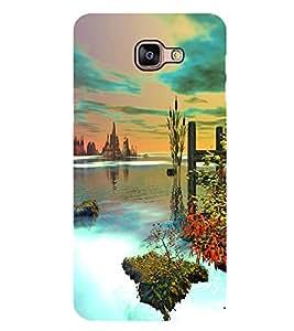 PrintVisa Natural Click High Gloss Designer Back Case Cover for Samsung Galaxy A9
