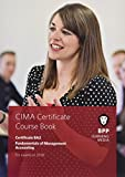 CIMA BA2 Fundamentals of Management Accounting: Coursebook
