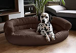 Knuffelwuff Hundesofa 115 x 100cm Hundebett Hundekorb XXL