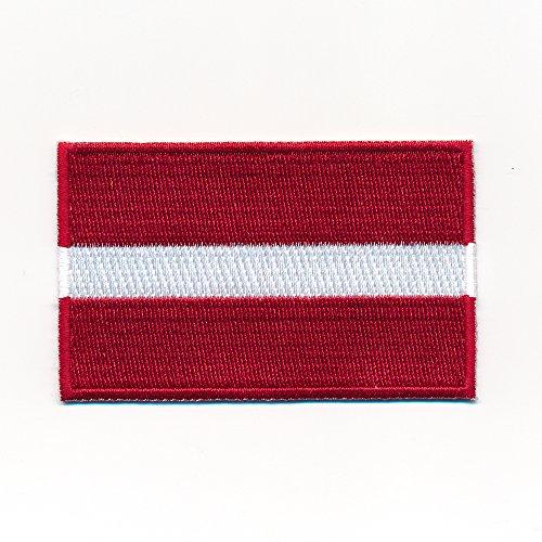 1099 Mini /écusson thermocollant 30 x 20 mm Motif Drapeau de la Polska Poland Flag