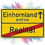 Einhorn Schild