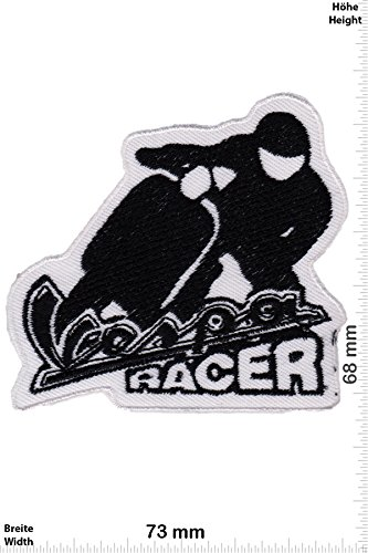 Patch - Vespa Racer - Roller - Motorrad - Motorrad - Vespa - Aufnäher - zum aufbügeln - Iron On Roller-patch
