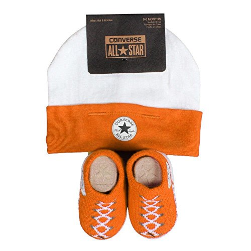 converse-baby-2-piece-gift-set-infant-beanie-booties-vivid-orange